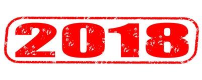 timbre 2018 Image libre de droits