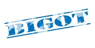 Timbre bleu de bigot Image stock