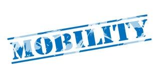 Timbre bleu de mobilité Photos stock