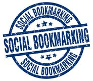 timbre bookmarking social illustration stock