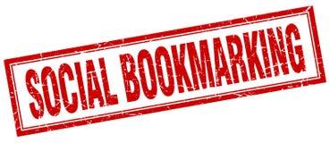 timbre bookmarking social illustration libre de droits