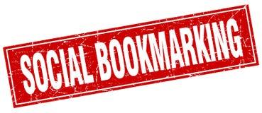 timbre bookmarking social illustration de vecteur