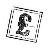Timbre BRITANNIQUE de symbole de livre illustration de vecteur