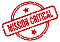 timbre critique de mission illustration libre de droits