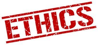 timbre d'éthique illustration libre de droits