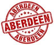 Timbre d'Aberdeen illustration de vecteur