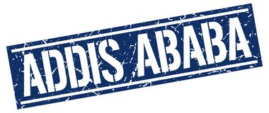 Timbre d'Addis Ababa Illustration Stock