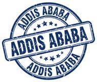 Timbre d'Addis Ababa Illustration de Vecteur