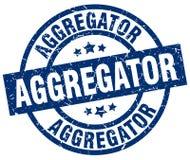 timbre d'aggregator Illustration Stock
