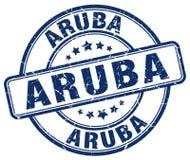 Timbre d'Aruba illustration libre de droits