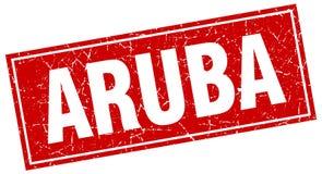Timbre d'Aruba illustration stock