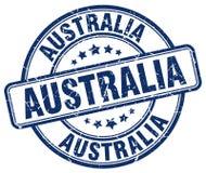 Timbre d'Australie illustration libre de droits