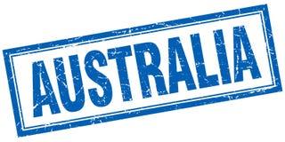 Timbre d'Australie illustration stock