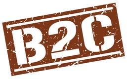 Timbre de B2c Images stock