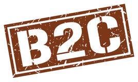 Timbre de B2c Photo stock