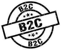 Timbre de B2c illustration stock