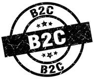 Timbre de B2c illustration libre de droits