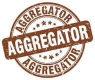 timbre de brun d'aggregator Image libre de droits