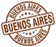 Timbre de Buenos Aires illustration stock