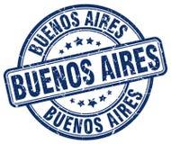 Timbre de Buenos Aires illustration libre de droits