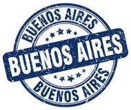 Timbre de Buenos Aires illustration de vecteur