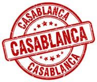 Timbre de Casablanca illustration stock