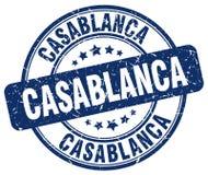 Timbre de Casablanca illustration de vecteur