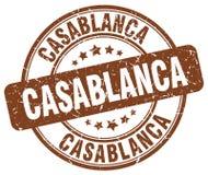 Timbre de Casablanca illustration libre de droits