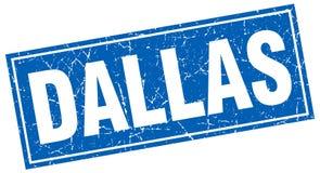 Timbre de Dallas illustration de vecteur