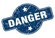 Timbre de danger illustration de vecteur