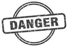 Timbre de danger illustration stock