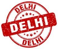 Timbre de Delhi illustration de vecteur