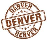 Timbre de Denver illustration libre de droits