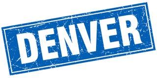 Timbre de Denver illustration de vecteur