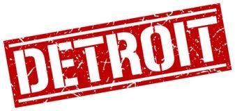 Timbre de Detroit illustration libre de droits