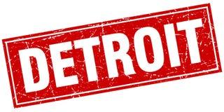 Timbre de Detroit illustration stock
