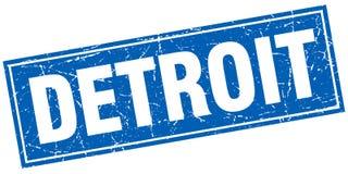 Timbre de Detroit illustration de vecteur