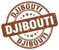Timbre de Djibouti Photographie stock