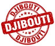 Timbre de Djibouti Photographie stock libre de droits