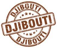 Timbre de Djibouti illustration de vecteur