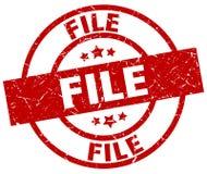 timbre de dossier Photographie stock libre de droits