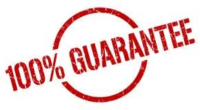 timbre de garantie de 100% illustration de vecteur