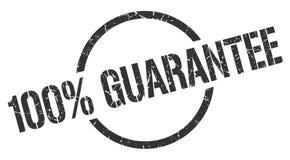 timbre de garantie de 100% illustration libre de droits