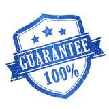 timbre de 100 garanties Photos stock