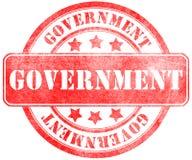 Timbre de gouvernement Photo stock