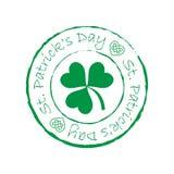Timbre de jour du ` s de St Patrick images libres de droits