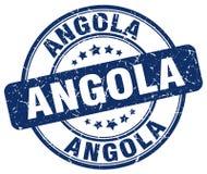 Timbre de l'Angola Illustration de Vecteur