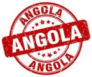 Timbre de l'Angola Photos libres de droits