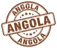 Timbre de l'Angola Photographie stock libre de droits