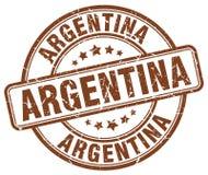 Timbre de l'Argentine illustration de vecteur